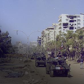 L'armée française à Beyrouth en 1982