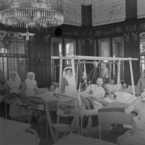 Les hôpitaux de l'arrière de la Grande Guerre