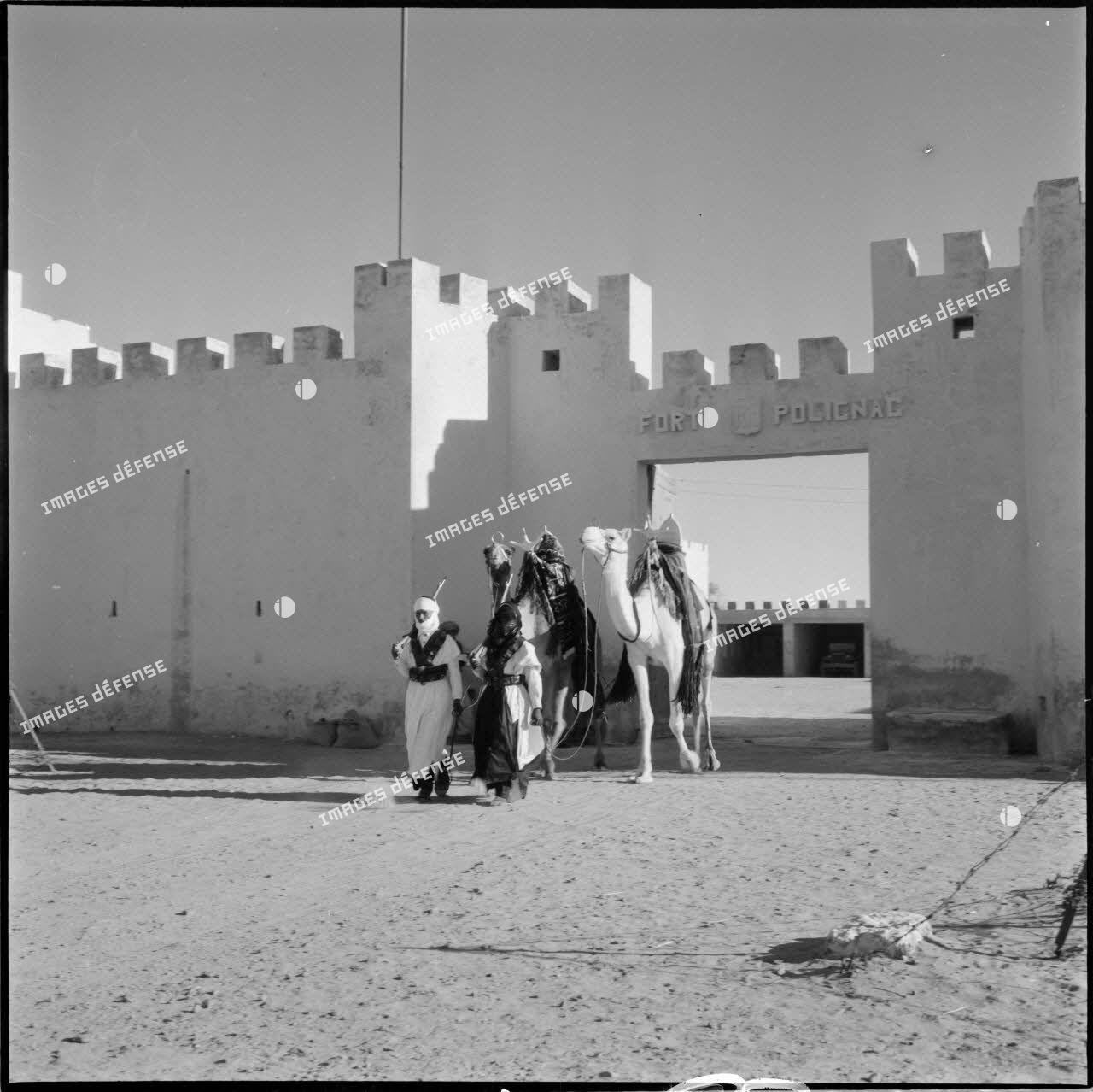 Fort Polignac situé dans les territoires des Oasis.