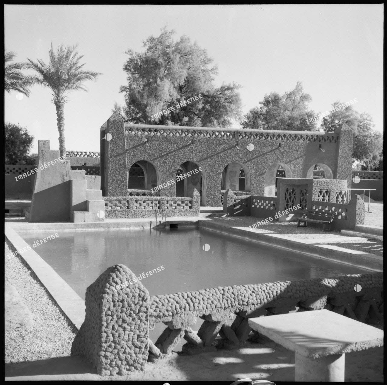 Le fortin d'Adrar : la piscine.