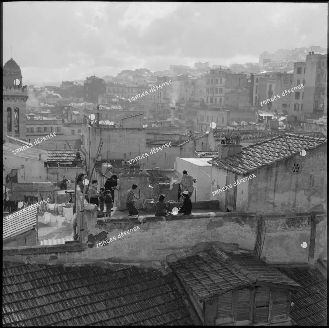 Vue de la casbah d'Alger.