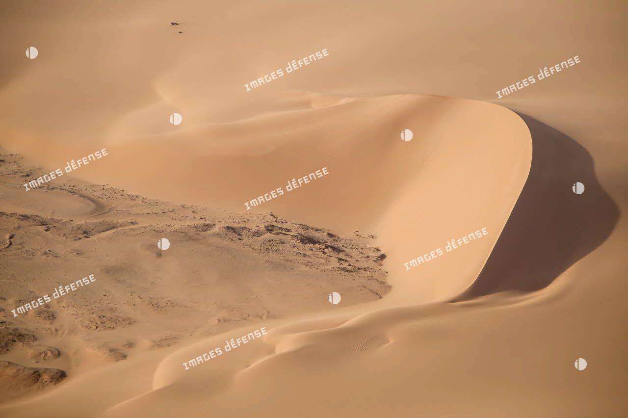 Barkhane à Madama, dans le désert nigérien.
