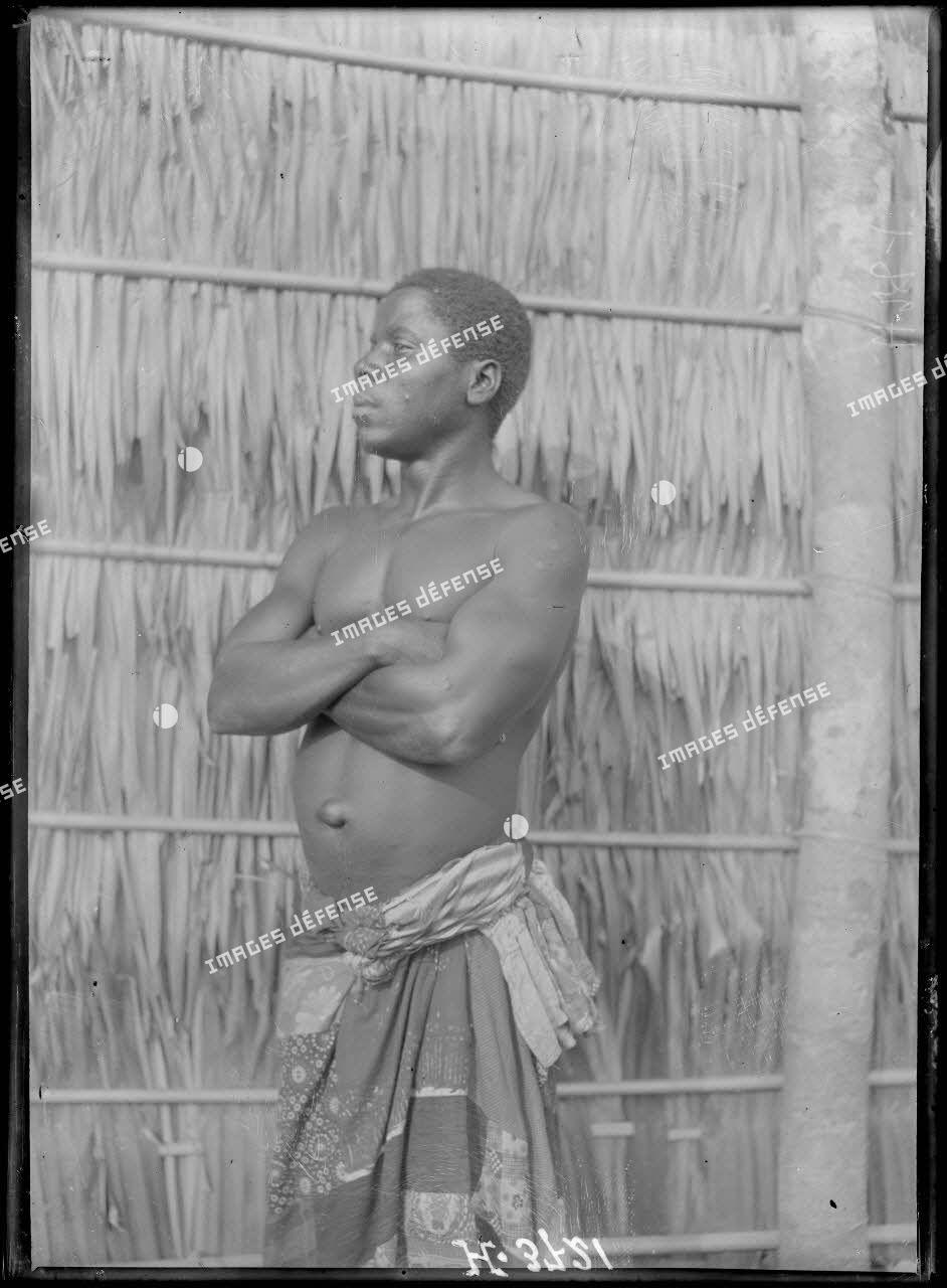 Douala. Type d'indigène. [légende d'origine]