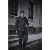 [Octobre 1931 - octobre 1932. Portrait de Pierre Jean Joseph Augarde affecté à la 17e section d'infirmiers militaires de Toulouse].