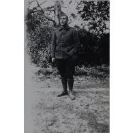 [Portrait de Pierre Jean Joseph Augarde affecté à la 17e section d'infirmiers militaires de Toulouse].