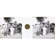 Fonds photographique René Denis. Tananarive, la 10e compagnie d'ouvriers d'artillerie coloniale.