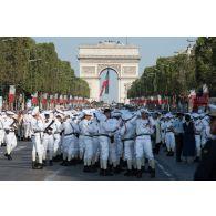 Défilé militaire du 14 juillet 2018 à Paris.