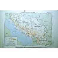 Carte de briefing de l'ex-Yougoslavie.