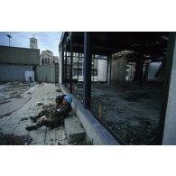 Opérateur de l'ECPA en mission de reportage en ex-Yougoslavie.
