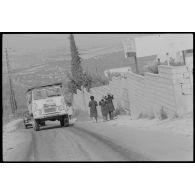 Implantation et activités du bataillon français de la FINUL au Liban sud.