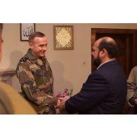 Visite officielle à Kaboul du chef d'état-major des armées français, le général Jean-Pierre Kelche.