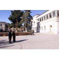 Vue du palais où siège le gouvernement afghan.