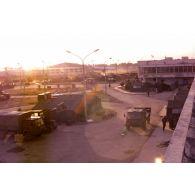 Vue de l'aéroport de Kaboul.