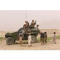 Opération Pamir en Afghanistan du 1er août au 30 octobre 2002 pour la FIAS (Force internationale d'assistance à la sécurité ou ISAF (International security assistance force).