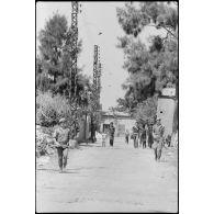 Bataillon français de la FINUL au Liban en 1982.