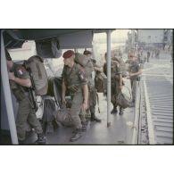 La Force multinationale de sécurité à Beyrouth (FMSB) : opération Diodon IV.