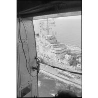 Eléments français de la Force multinationale de sécurité à Beyrouth en septembre 1983.