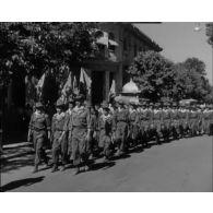 Départ des Harkas pour le défilé du 14 juillet à Paris.