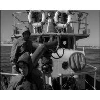 Les marins-pompiers de Marseille.