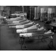 Engins Matra (société Nord-Aviation) : le missile Matra R 530 et le missile AS-30.