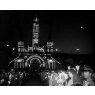 6e pélerinage militaire international à Lourdes du 25 au 27 mai 1963.
