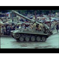 Défilé du 14 Juillet 1968 à Paris.