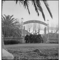 Le collège national de moniteurs et d'athlètes (CNMA) d'Antibes (Alpes-Maritimes).