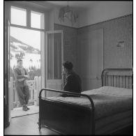 Le service social de l'armée : le centre d'hébergement pour militaires permissionnaires de Saint-Pierre-de-Chartreuse (Isère).