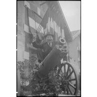 L'armée d'armistice : le 2e RAM de Grenoble (Isère) en exercice.