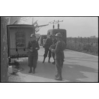 L'armée d'armistice : exercice de la compagnie de transmissions 8/16 de Montpellier (Hérault).