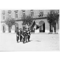 L'armée d'armistice : le 43e RIA stationné à Marseille (Bouches-du-Rhône).