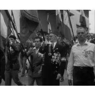 Le 14 juillet 1958 à Alger.