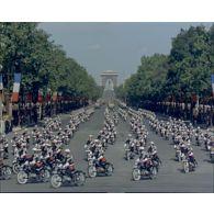Défilé du 14 juillet 1963 à Paris.