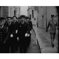 Dernière distribution des prix à l'école militaire préparatoire de Billom le 23 juin 1963.