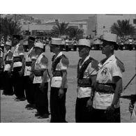 Cérémonie de Camerone à Ghardaïa avec la 2e CSPL.