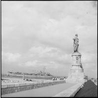 Débarquement des troupes françaises à Port-Fouad.