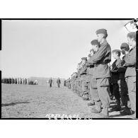 La cérémonie du 11 Novembre sur la base aérienne d'Akrotiri (Chypre).