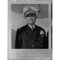 Portraits du vice-amiral d'escadre Barjot.