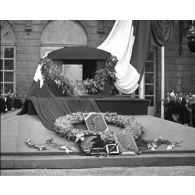 Les obsèques du maréchal Lyautey.