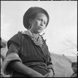 Portrait d'une femme Hmong.