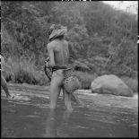 Pêcheur Hmong près de Nam Cat en pays ThaÏ.