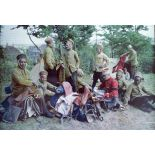 Au camp des goumiers, Pas-de-Calais, 1915. [légende d'origine]