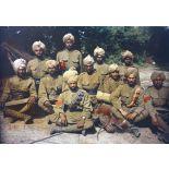 [Soldats britanniques venant du Pendjab.]