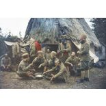 Au camp des spahis, Pas-de-Calais, 1915. [légende d'origine]