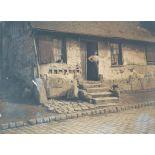 Le Chatelain. Vieille maison route de Noyon [légende d'origine]
