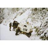 [Accident de véhicule blindé léger en Bosnie-Herzégovine].