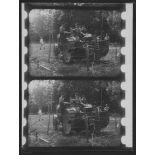 [Machine à cisailler et à versoirs. Expérience de Maisons-Lafitte du 22 juillet 1915 (film cinématographique).]