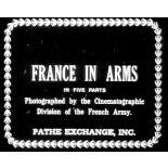 La puissance militaire de la France (1re partie).