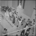 Inauguration de l'exposition de peinture de Madame Pham Dung Doan.