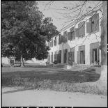 Un bâtiment de l'hôpital militaire Lanessan.